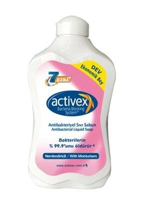 Activex Antibakteriyel Sıvı Sabun Nemlendirici Krem 1.5 lt