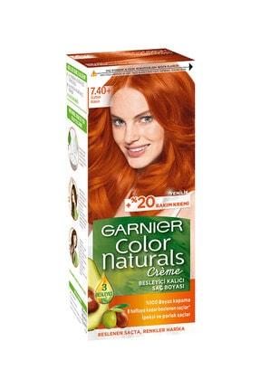 Garnier Color Naturals Sultan Bakırı Saç Boyası No:7.40+