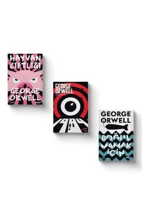 Can Yayınları George Orwell Seti - Hayvan Çiftliği - 1984 - Boğulmamak İçin