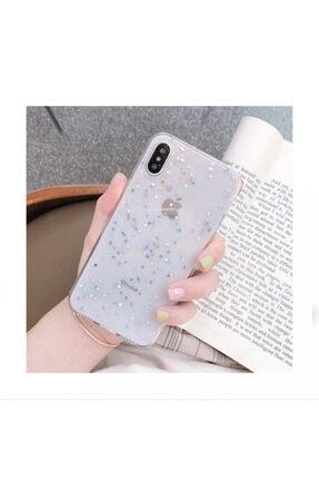 Kılıfsiparis Apple Iphone Xr Şeffaf Simli Silikon Telefon Kılıfı