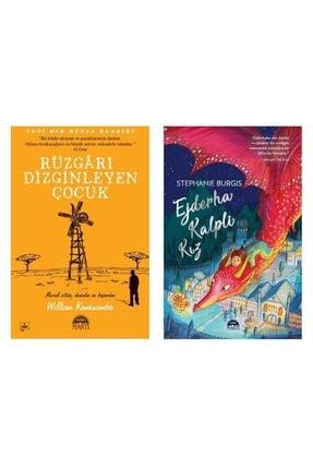Martı Yayınları Ejderha Kalpli Kız + Rüzgarı Dizginleyen Çocuk 2 Kitap Set