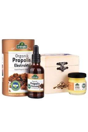 Arifoğlu Organik Propolis Ekstraktı (su Bazlı) 50ml + Organik Arı Sütü 40g