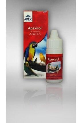 Apex Kuşlar Için Multivitamin - Mineral - Apexisol 30 ml