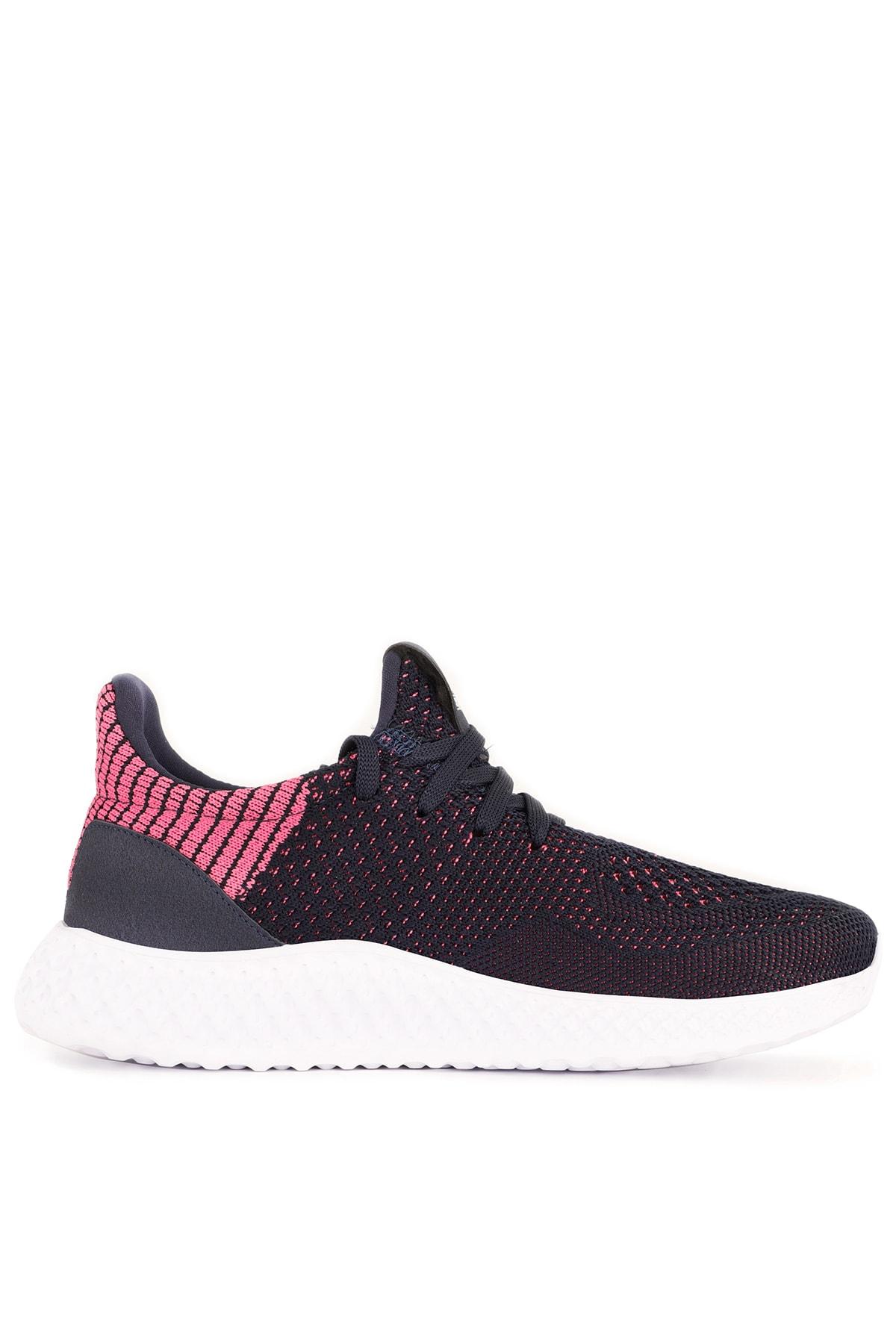 Slazenger Atomıc Koşu & Yürüyüş Kadın Ayakkabı Lacivert / Fuşya 1