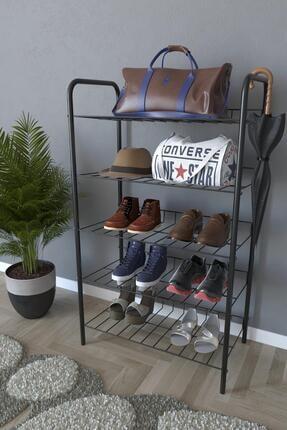 Evekip 5 Raflı Ayakkabılık Metal Ayakkabılık Çok Amaçlı Dolap