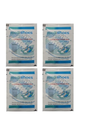 Medishoes Ayak Kokusu Önleyici Toz (Ayakkabı Ve Bot Içi Kullanım) X 4 Adet