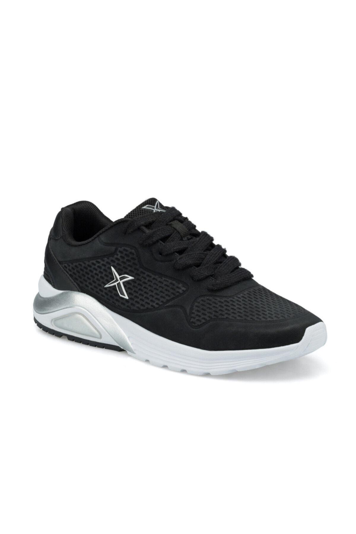 Kinetix Kadın Siyah Faust Pu W Sneaker Ayakkabı 1