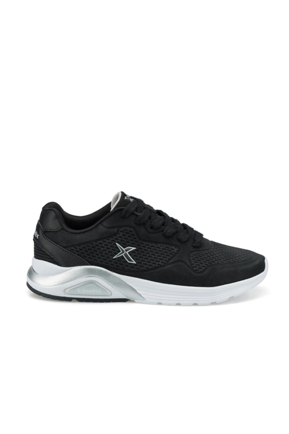 Kinetix Kadın Siyah Faust Pu W Sneaker Ayakkabı 2