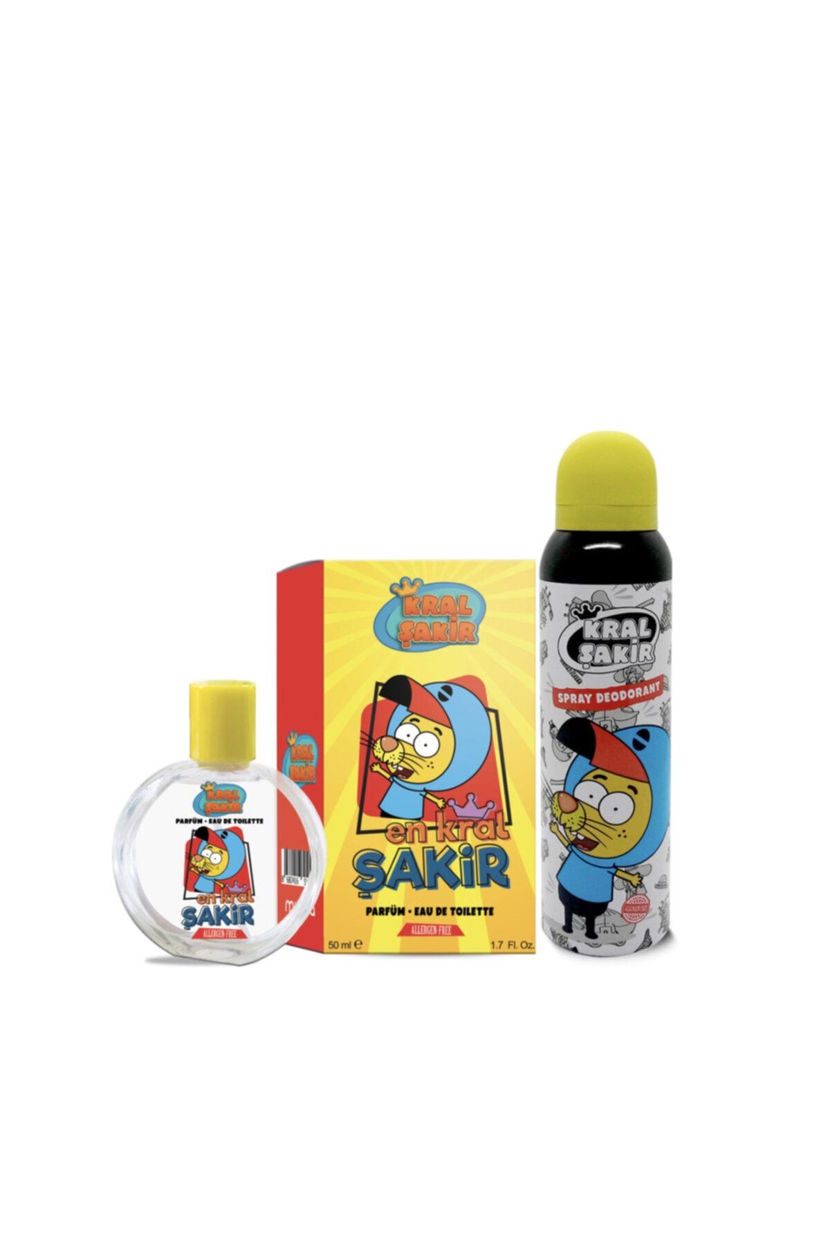 Kral Şakir 50ml Parfüm Edt + 150ml Deodorant 1