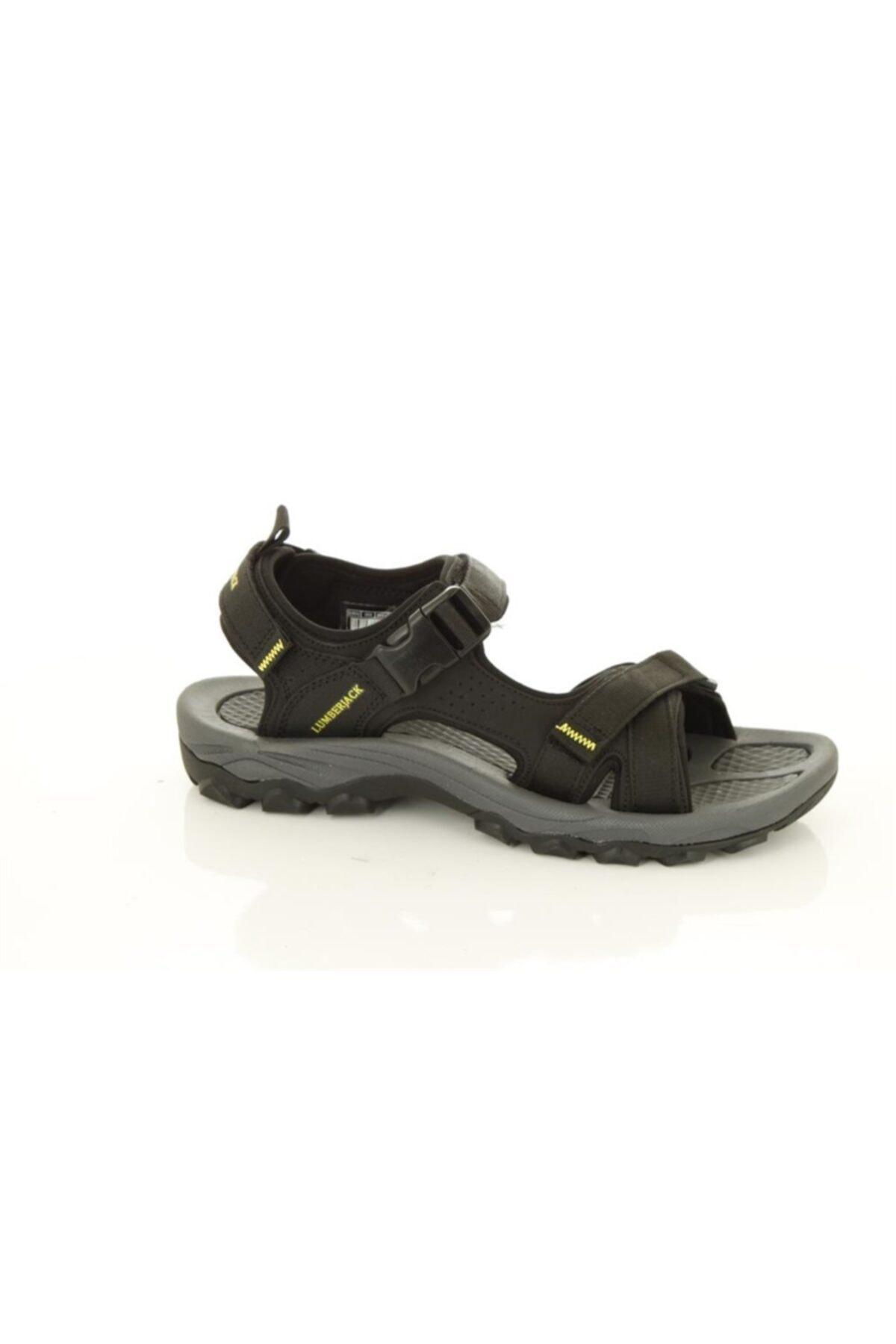 lumberjack Laggun Siyah - Erkek - Günlük Sandalet 2