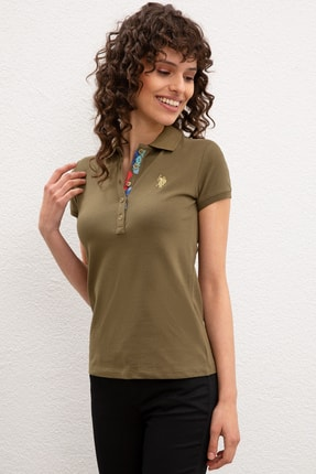 U.S. Polo Assn. Kadın Polo Yaka T-Shirt G082SZ011.000.734024
