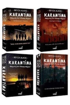 İndigo Yayınları Karantina Seti - Ciltsiz (4 Kitap)