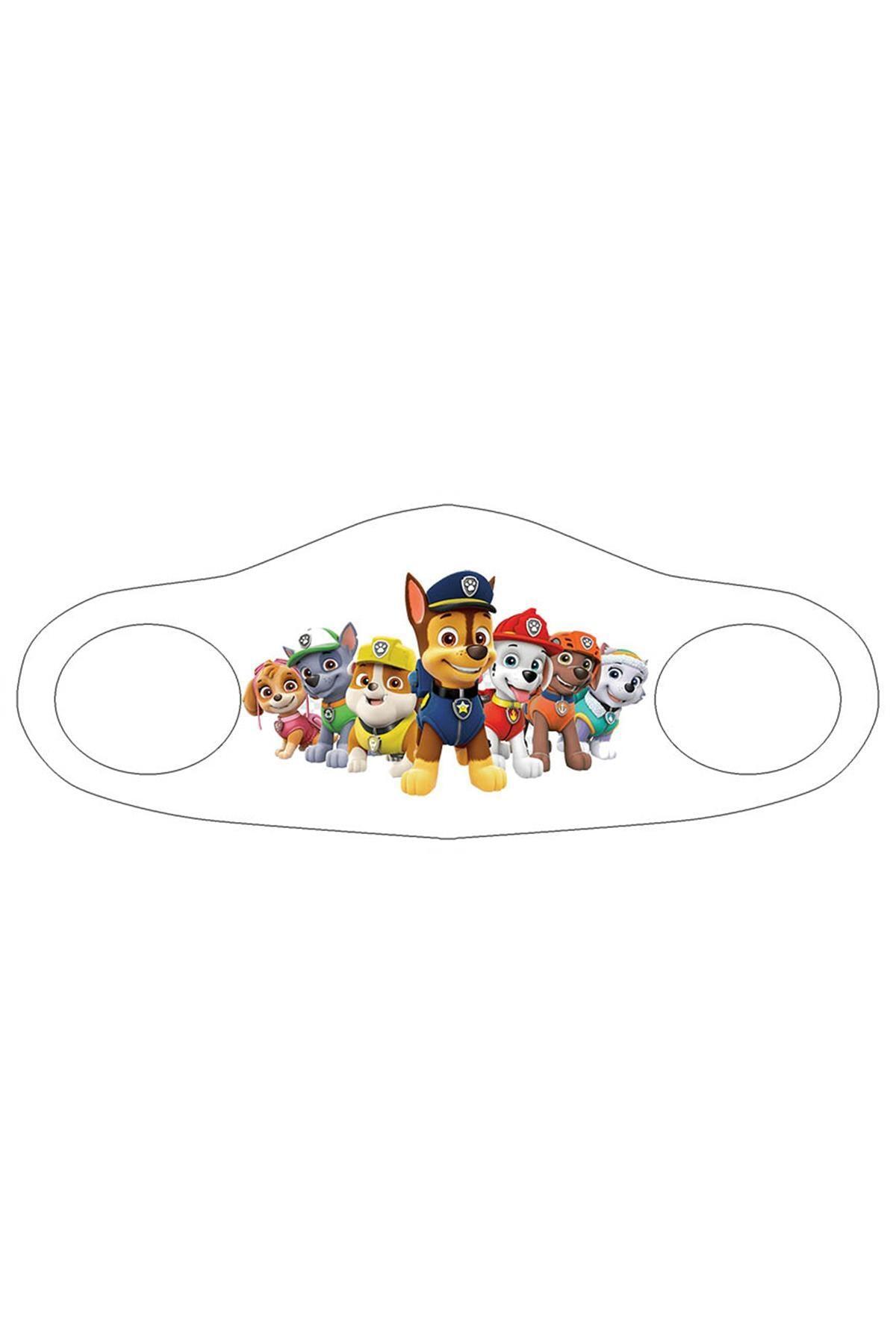 Noon Collection Noon NN7039 Çocuk Baskılı Maske