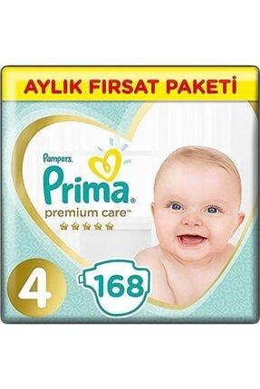 Prima Premium Care 4 Numara 2 Paket 168 Adet