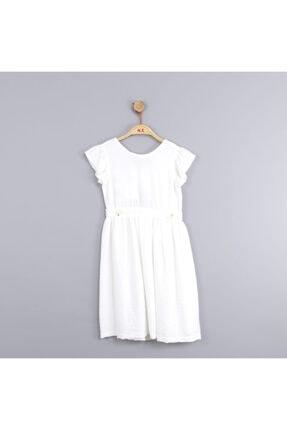 NK Kız Çocuk Beli Büzgülü Yazlık Rahat Elbise