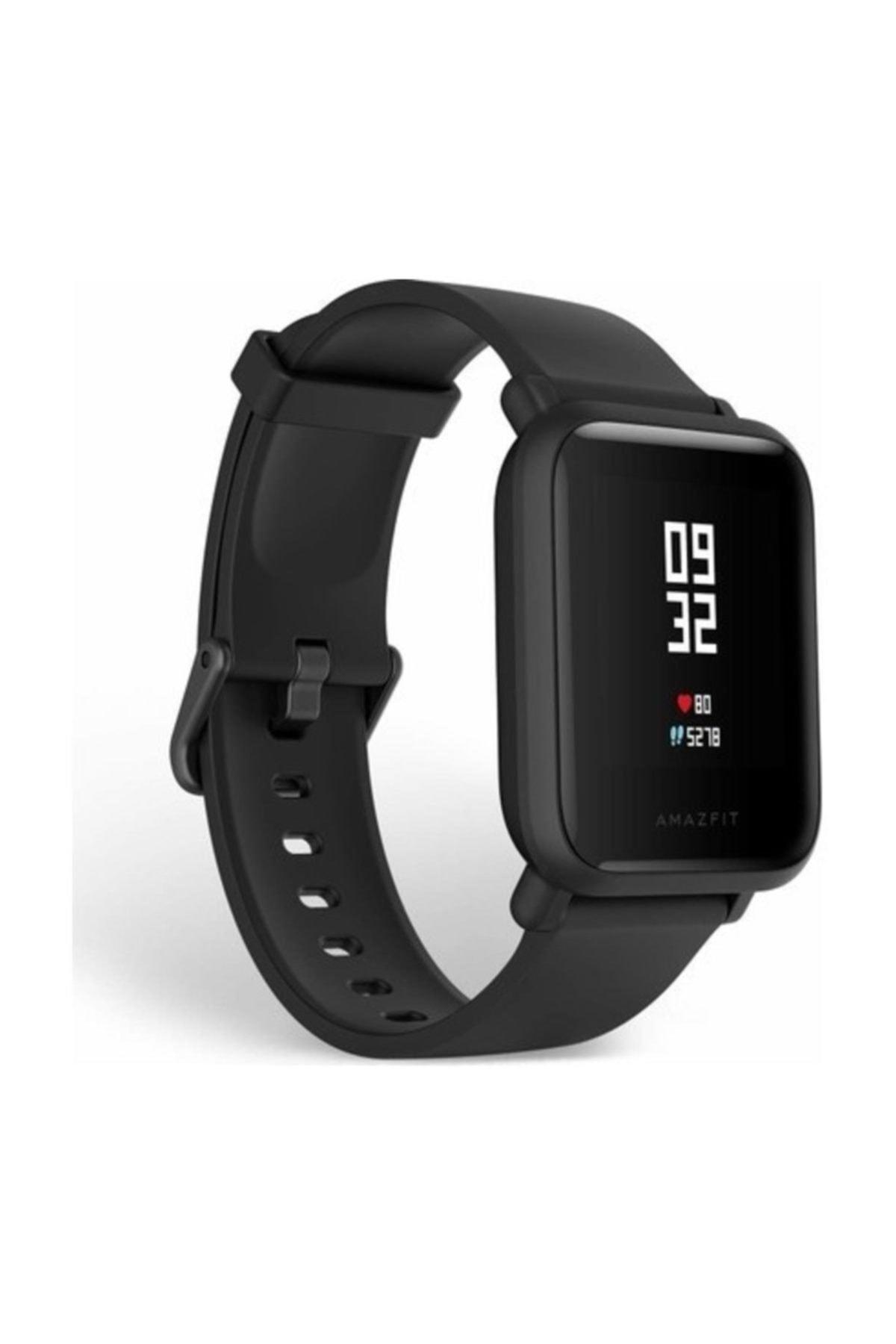 Amazfit Bip Lite Bluetooth Nabız Akıllı Saat - Global Versiyon - Siyah 1
