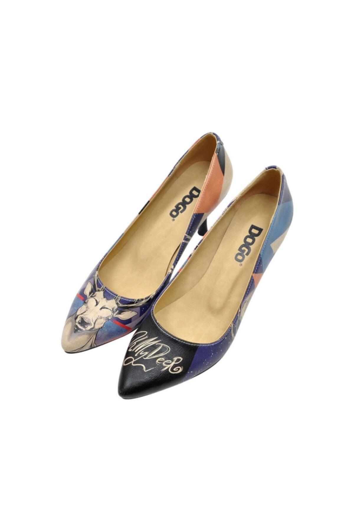 Dogo Oh My Deer Kadın Topuklu Ayakkabı 2