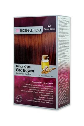 BioBellinda Amonyaksız Kalıcı Krem Saç Boyası - 8.4 Tarçın Bakırı