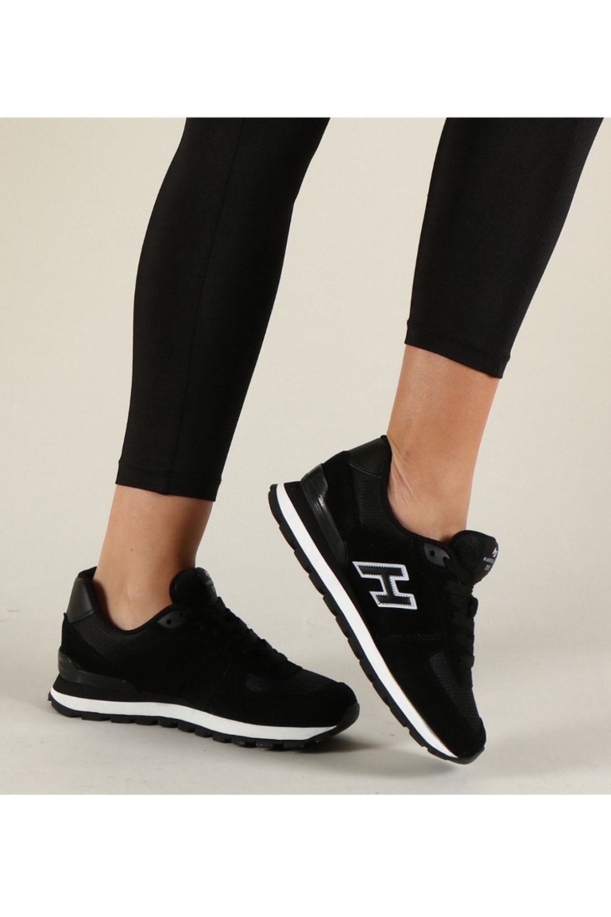 Hammer Jack Siyah Kadın Sneaker 10219250G 2