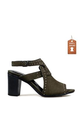 Hammer Jack Haki Nubuk Kadın Ayakkabı 538 111-Z