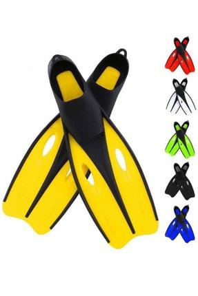 Liggo Karışık Renk Yüzücü Havuz Deniz Dalış Paleti 42-43