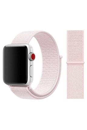 Elfia Apple Watch 2. Nesil 40 mm Pastel Renkli Tarz Örgü Saat Kordonu
