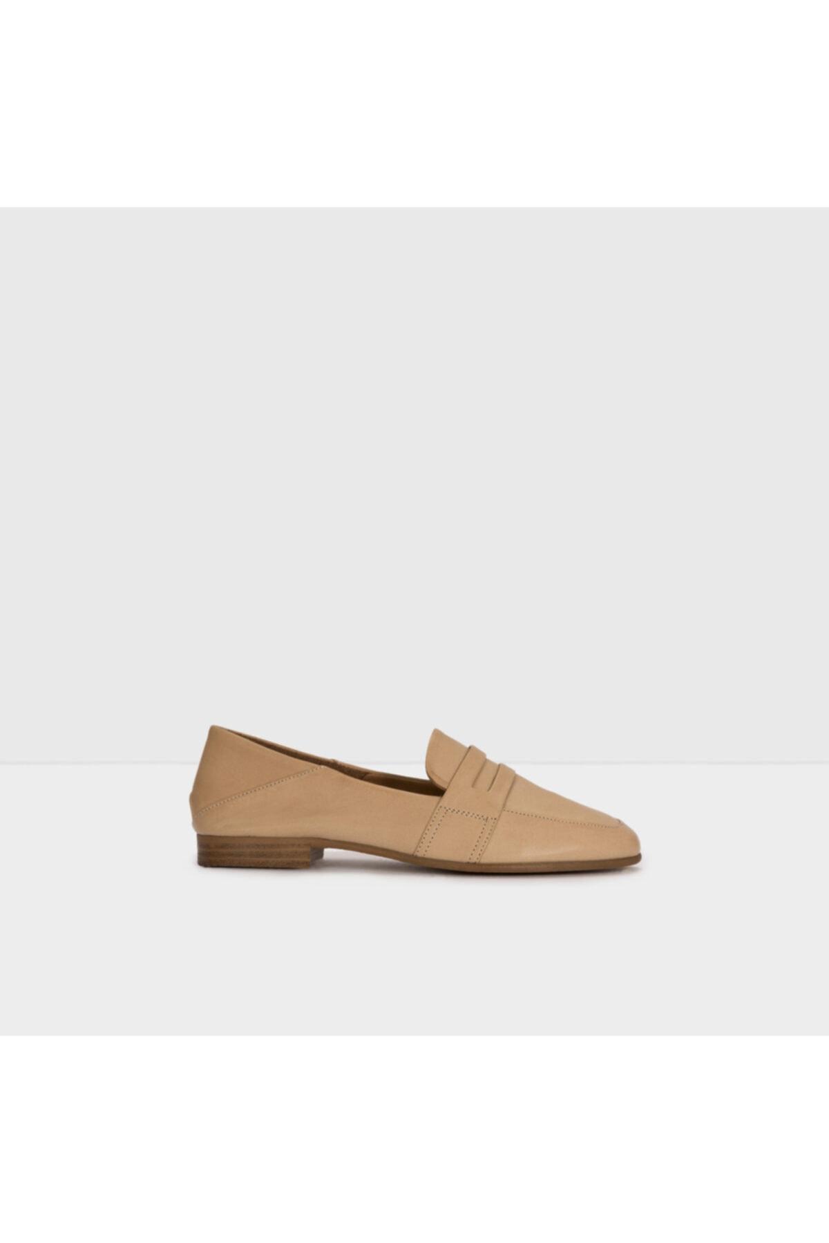 Aldo Kadın Taba Yuvılle Loafer Ayakkabı 1