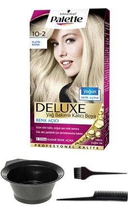 SCHWARZKOPF HAIR MASCARA 2'li Palette Deluxe 10-2 Platin Sarısı Saç Boyası Ve Saç Boyama Seti 8671955421629