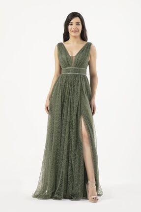 MAXXE Kadın Simli Tül Elbise