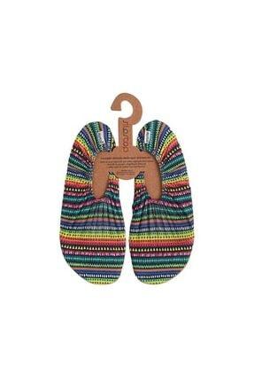 SLIPSTOP Kadın Renkli Havuz Ve Deniz Ayakkabısı1 8140077
