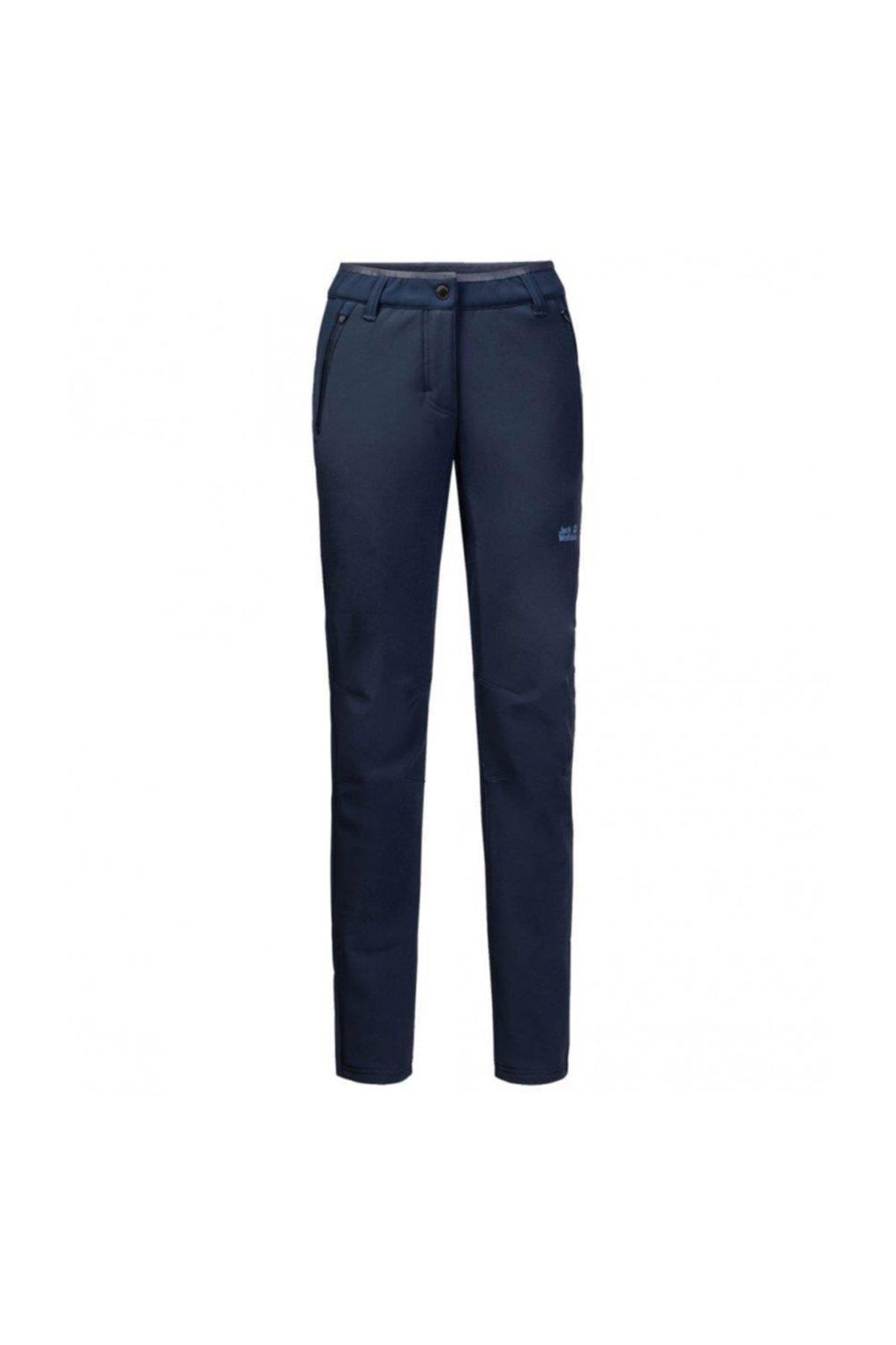 Jack Wolfskin Zenon Softshell Pants Kadın Pantolon - 1505111-1910 1