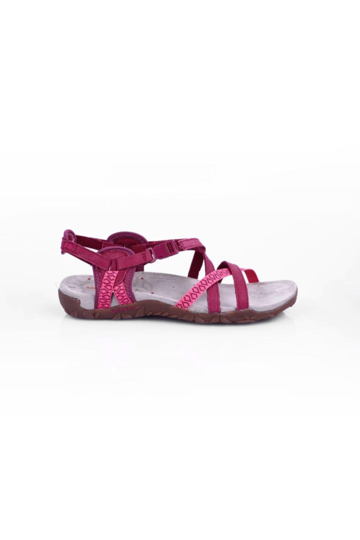 Salomon Merrell J55310 Kadın  Terran Lattıce Iı Sandalet 20y 1