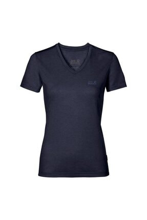 Jack Wolfskin Crosstrail Kadın T-Shirt - 1801692-1910