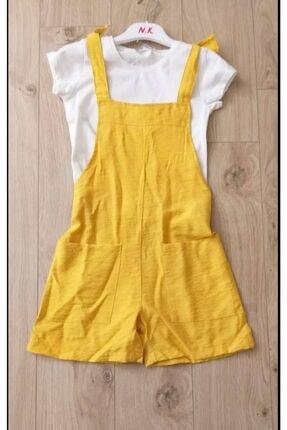 NK Kız Çocuk Sarı Tulum