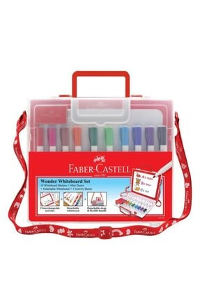 Faber Castell Çantalı Tahta Kalemi 10 Renk