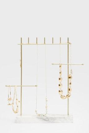 Stradivarius Kadın Bej Minimal Mermer Takı Kutusu 00902020
