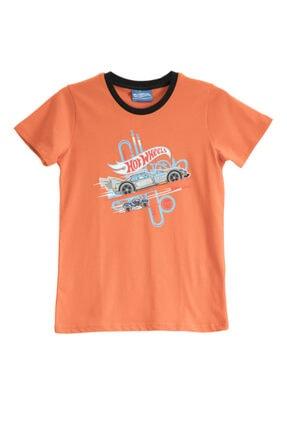 HOT WHEELS Lisanslı Kiremit Erkek Çocuk T-shirt
