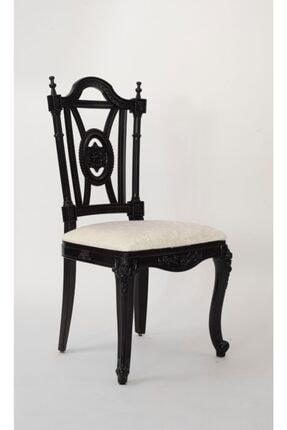 SF SANDALYE FABRİKASI Plastik Azer Sandalye Siyah