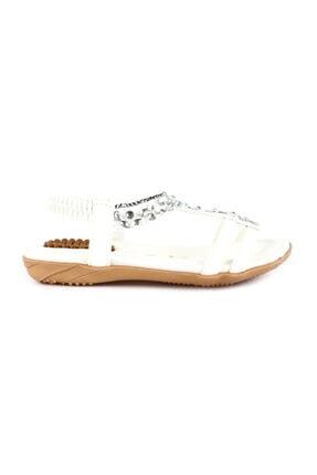 Guja Beyaz Unisex Sandalet 20Y235-5