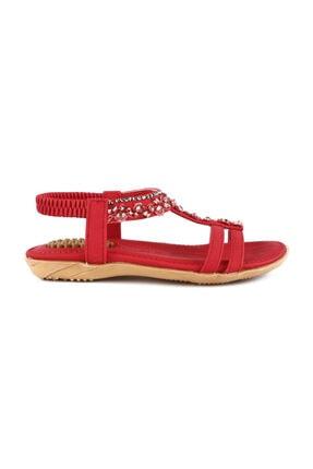 Guja Kırmızı Unisex Sandalet 20Y235-5
