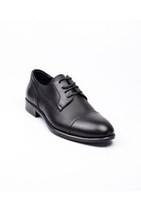 MARCOMEN 5111 Siyah Deri Erkek Klasik Ayakkabı Siyah-43