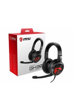 MSI Gg Immerse Gh30 Gaming Kablolu Kulak Üstü Kulaklık Siyah