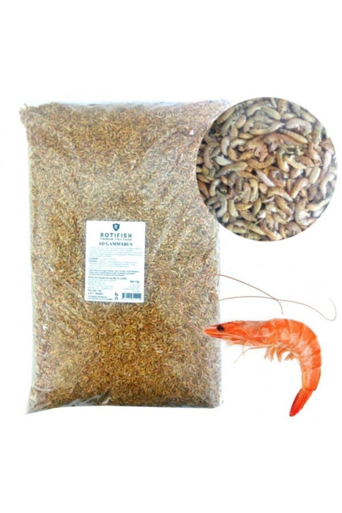 Rotifish Gammarus (karides) Balık Ve Kaplumbağa Yemi 250 gr 1
