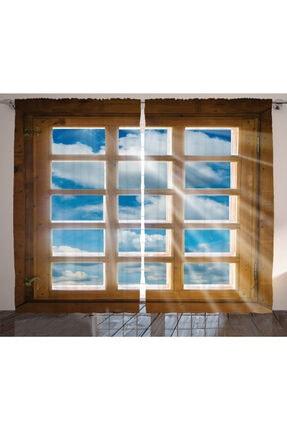 Orange Venue Gökyüzü Perde Pencere Ve Gökyüzü