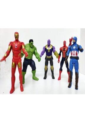 AVENGERS Yenilmezler Oyuncak Thanos Hulk Örümcekadam Kaptanamerika Işıklı