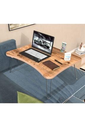 Eyibil Mobilya Maya Katlanır Laptop Sehpa Çalışma Kahvaltı Masası Atlantikçam Mdf