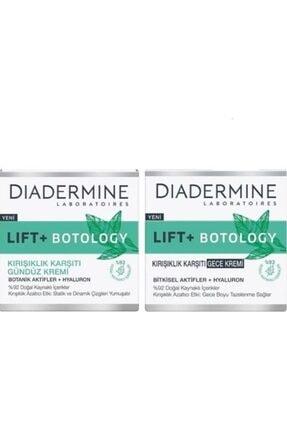 Diadermine Lift+ Botology Kırışık Karşıtı Gündüz + Gece Kremi 50+50 ml