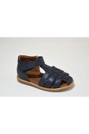 Bambino Hakiki Deri Lacivert Erkek Çocuk Ilkadım Ayakkabısı