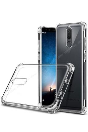 Soffy Huawei Mate 10 Lite Kılıf Köşeleri Korumalı Sert Şeffaf Mika Kapak
