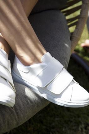 Du Jour Paris Beyaz Kadın Spor Ayakkabı 4000-19-101003